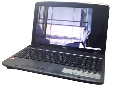 Замена матрицы на ноутбуке в СПб, вызов компьютерного мастера на дом