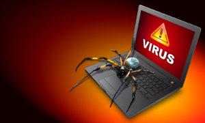 удаление вирусов из ноутбука