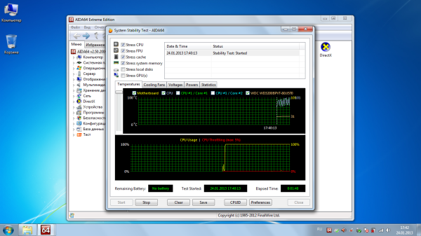 Перегрев ноутбука: температура процессора ноутбука Samsung NP-R540 после чистки