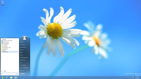 Классическое привычное меню Пуск в Windows 8